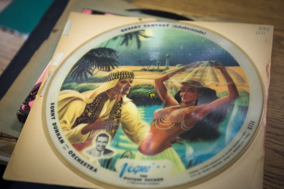 A Vogue picture disc that went at auction today.